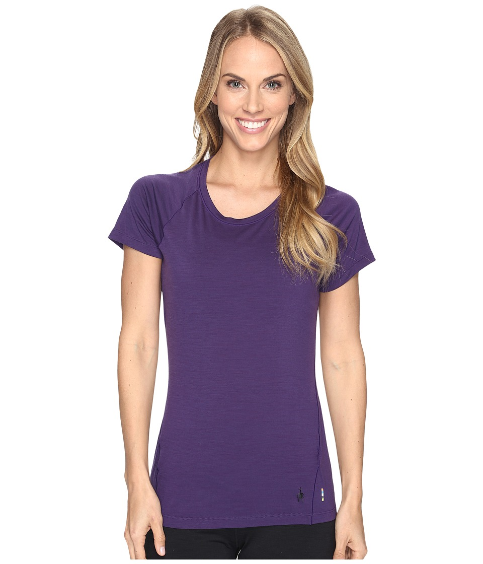 Smartwool Merino 150 Baselayer Short Sleeve (Mountain Purple) Women
