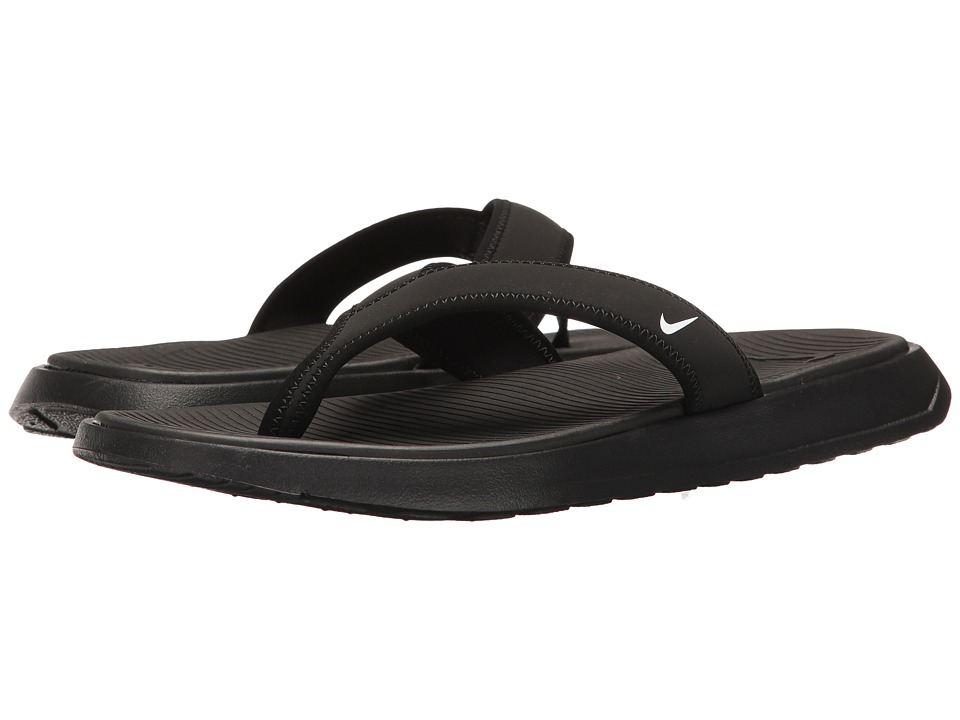 Nike Ultra Celso Thong (Black/White/Black) Men's Shoes