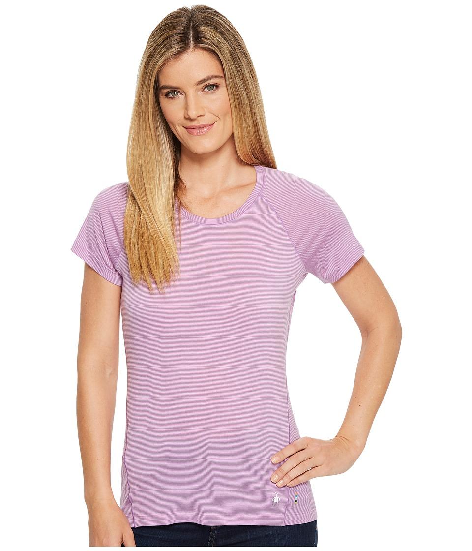 Smartwool Merino 150 Baselayer Pattern Short Sleeve (Lilac) Women