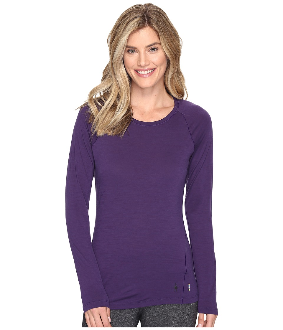 Smartwool Merino 150 Baselayer Long Sleeve (Mountain Purple) Women
