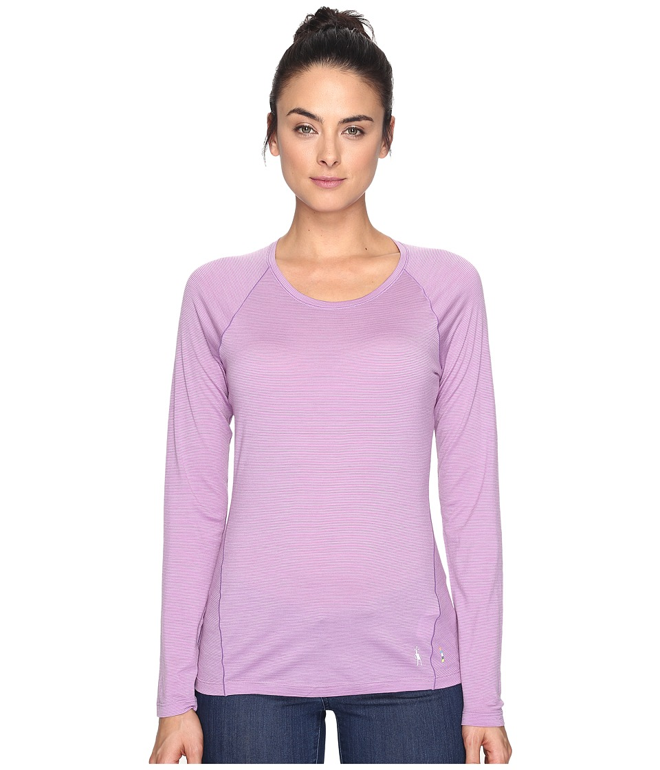 Smartwool Merino 150 Baselayer Pattern Long Sleeve (Lilac) Women