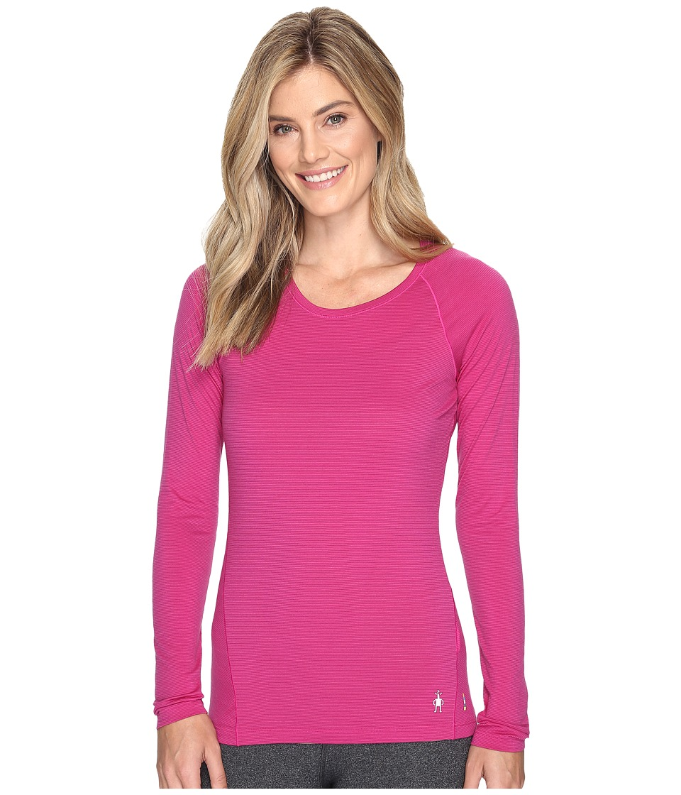 Smartwool Merino 150 Baselayer Pattern Long Sleeve (Berry) Women