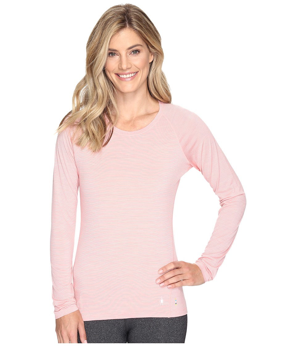 Smartwool Merino 150 Baselayer Pattern Long Sleeve (Mineral Pink) Women