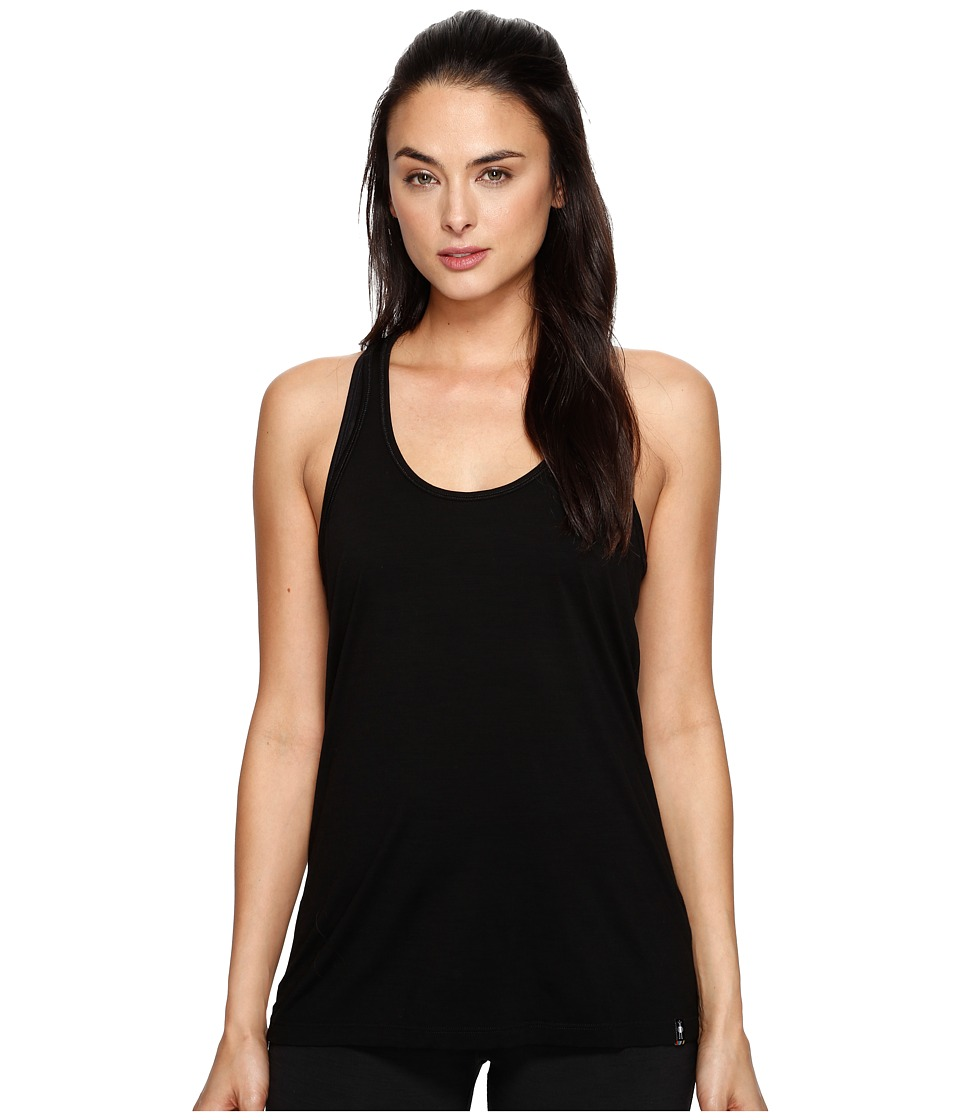 Smartwool Merino 150 Tank Top (Black) Women