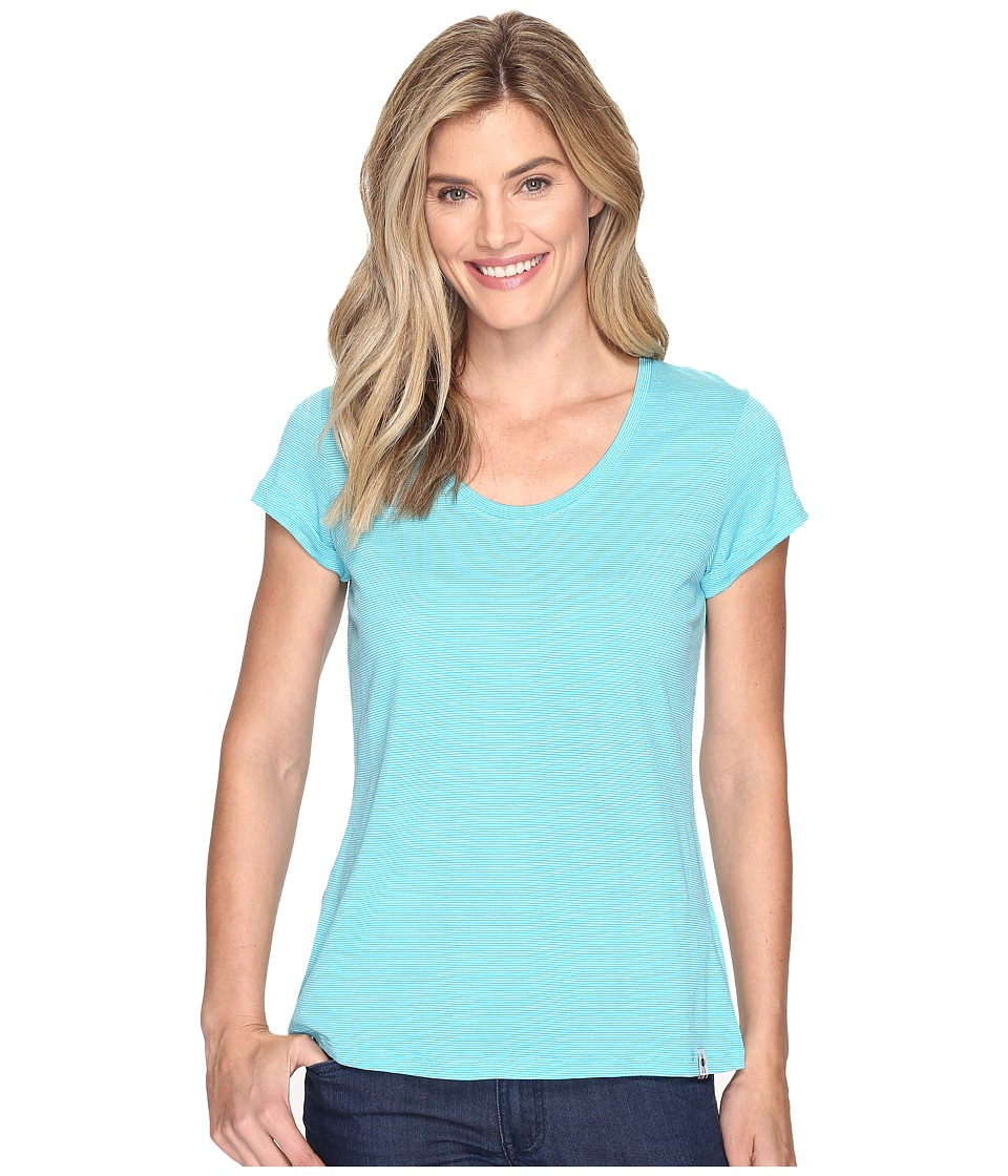 Smartwool Merino 150 Pattern Boyfriend Tee (Light Capri) Women