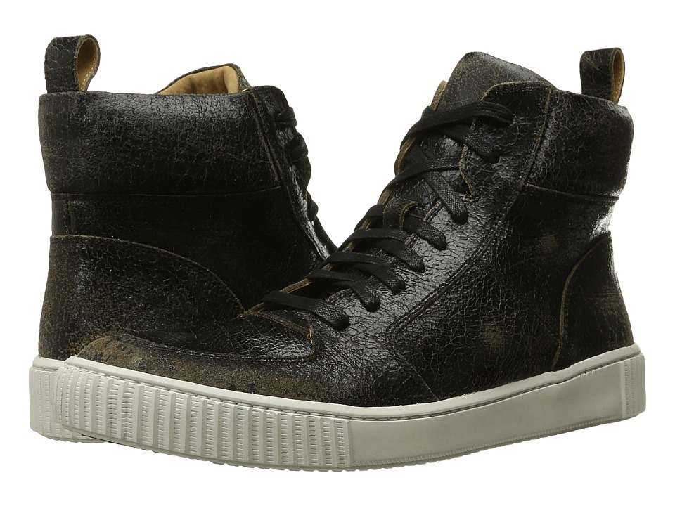John Varvatos - Bedford Hi Top (Black Sand) Men