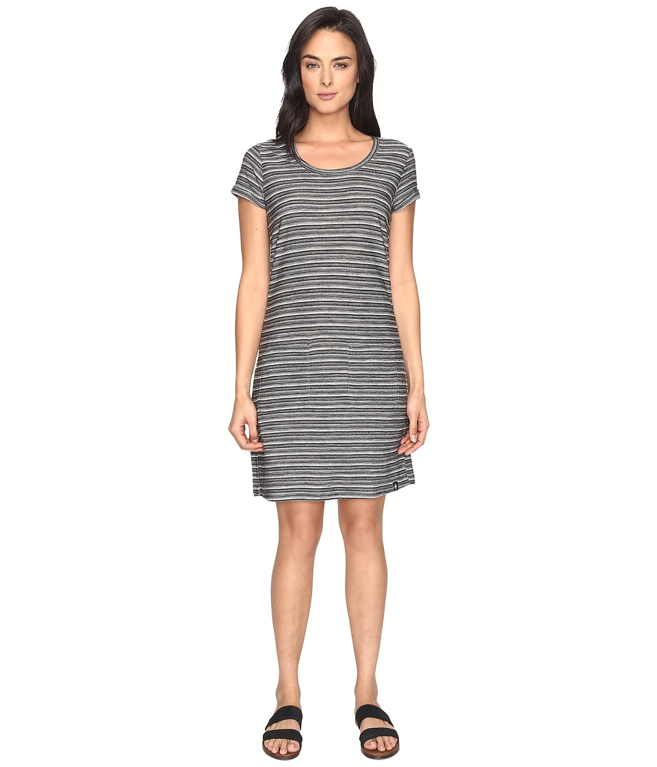 Smartwool Horizon Line T-Shirt Dress (Black) Women