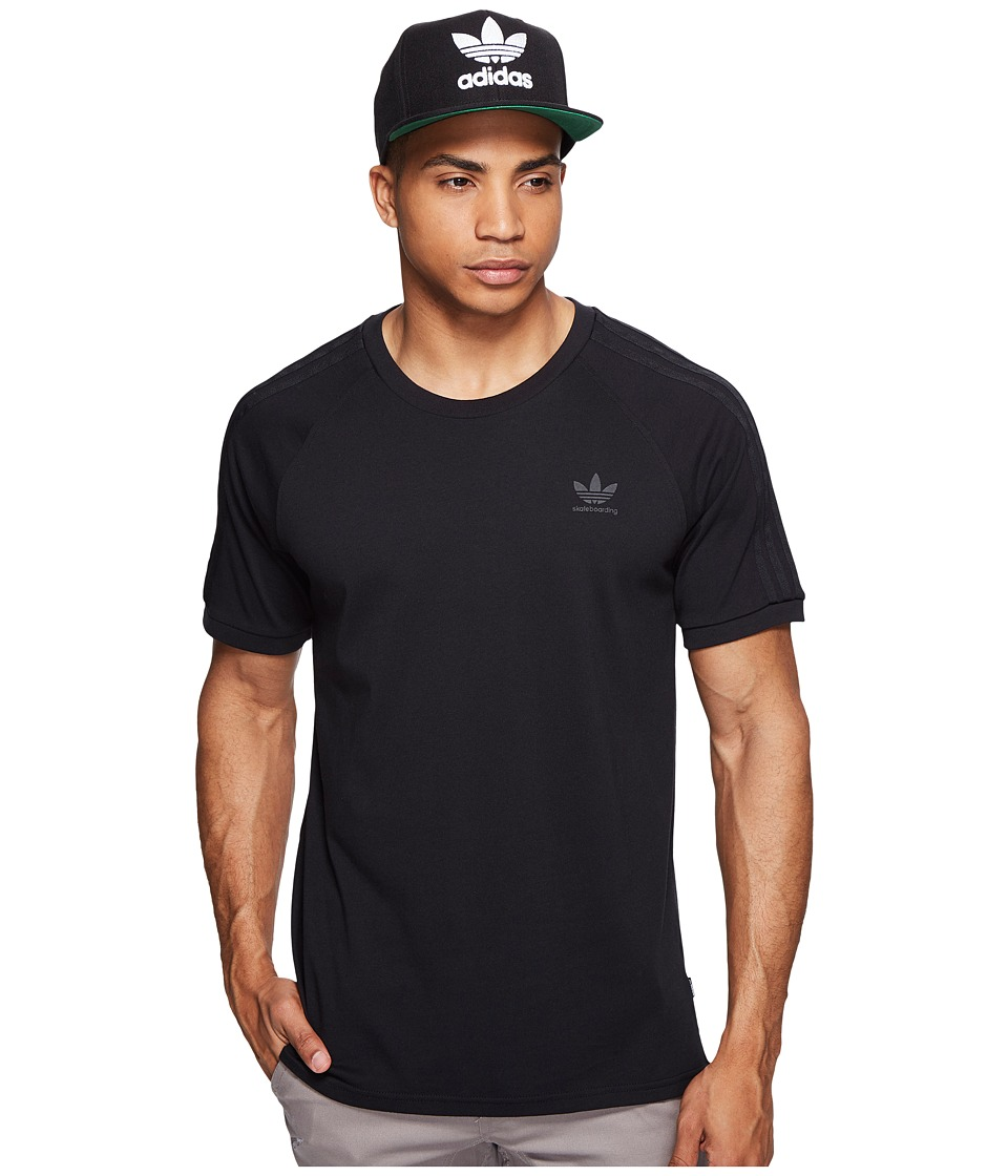 adidas Skateboarding California 2.0 Tee (Black) Men