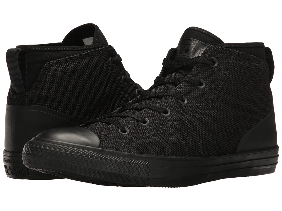 Converse Chuck Taylor All Star Syde Street Textile Mid (Black/Black/Black) Men