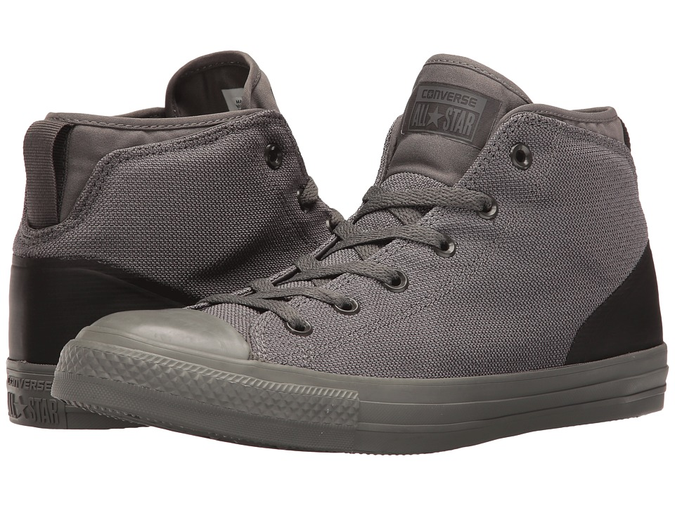 Converse Chuck Taylor All Star Syde Street Textile Mid (Charcoal Grey/Charcoal Grey) Men