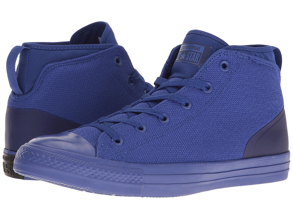 Converse Chuck Taylor All Star Syde Street Textile Mid (True Indigo/True Indigo/True Indigo) Men