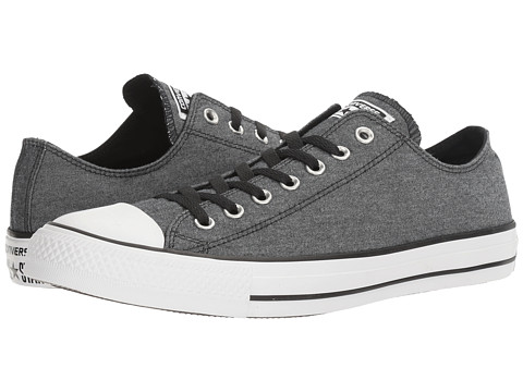 Converse Chuck Taylor® All Star® Washed Chambray Ox - Black/White/Black