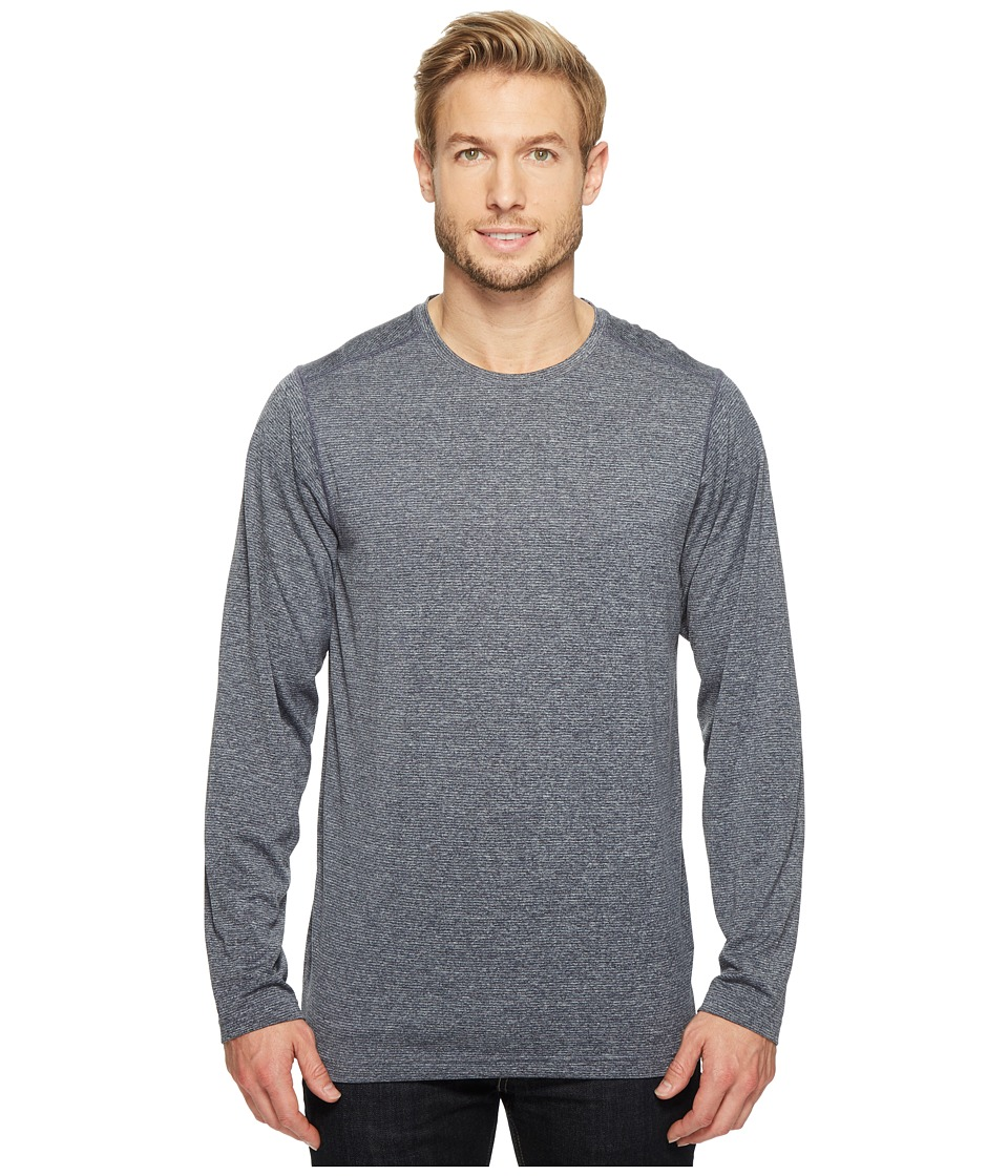 ExOfficio BugsAway Tarka Long Sleeve Top (Navy) Men