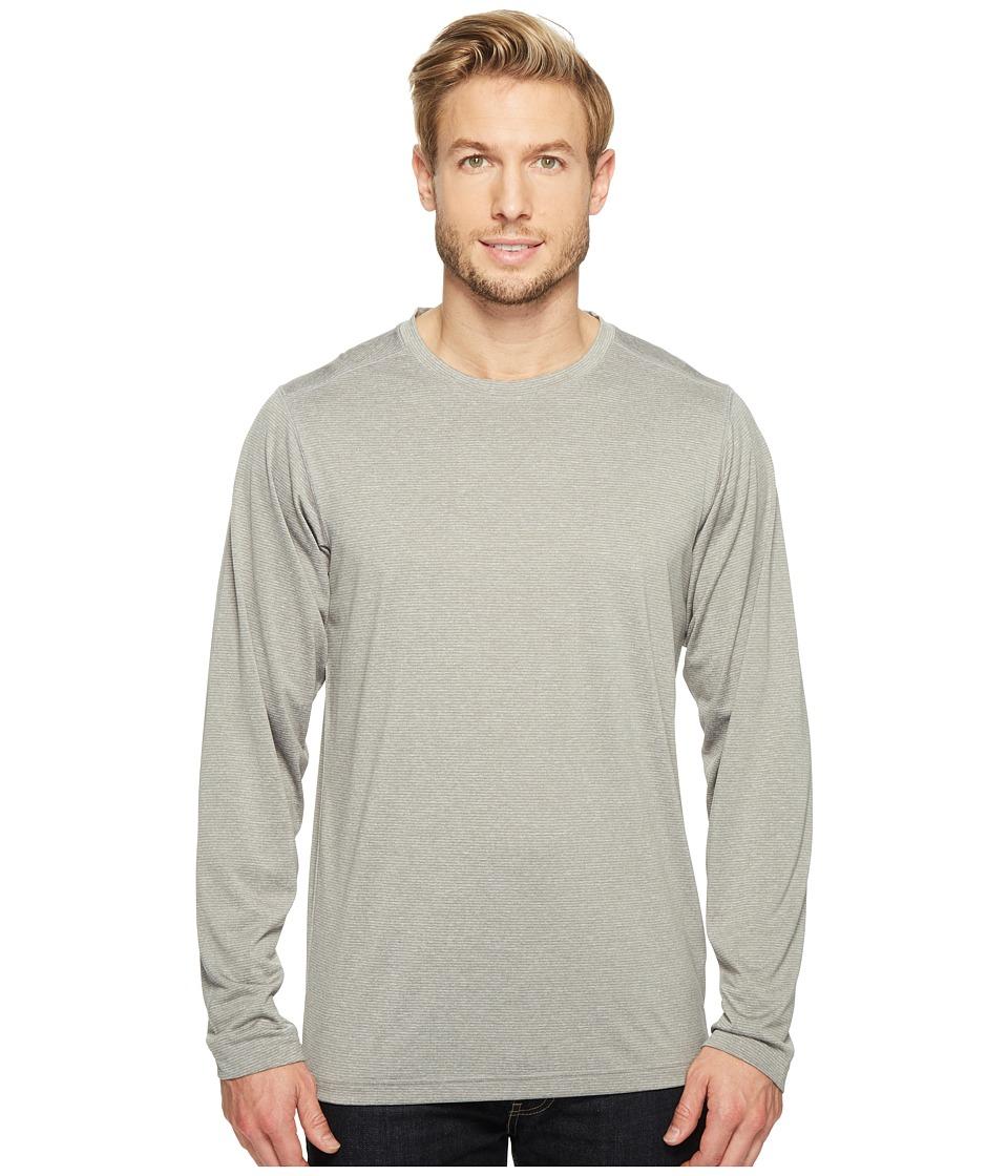 ExOfficio - BugsAway(r) Tarka Long Sleeve Top (Cement) Mens Long Sleeve Pullover