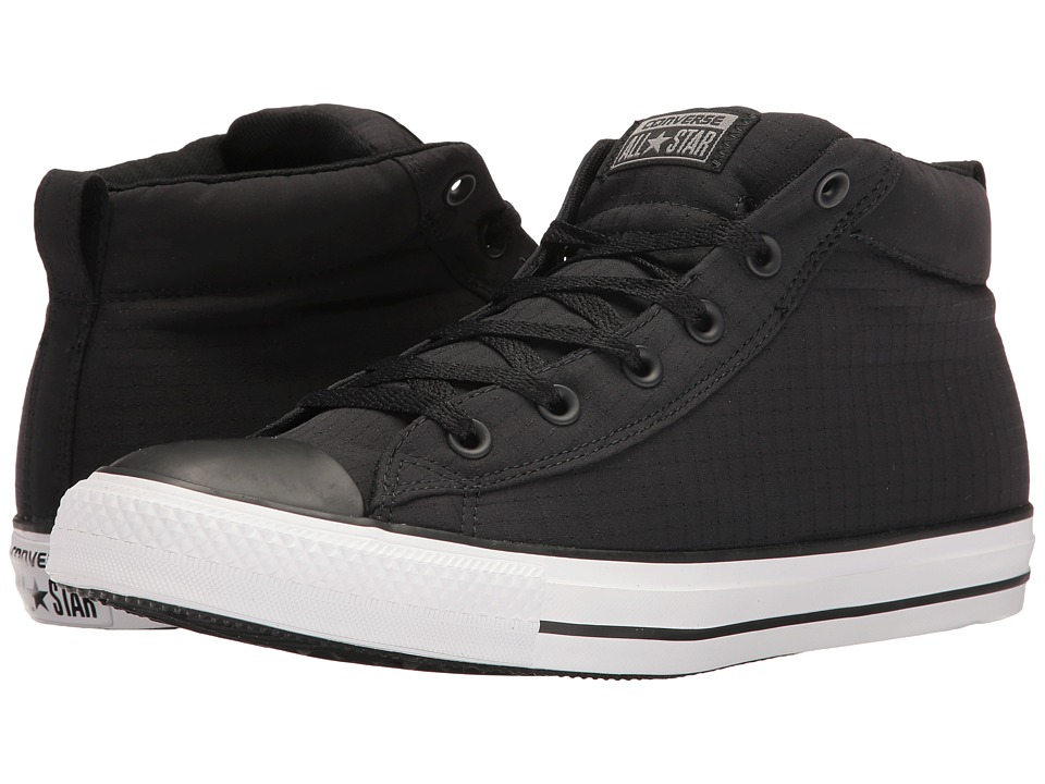 Converse Chuck Taylor All Star Street Ripstop Mid (Black/White/Black) Men