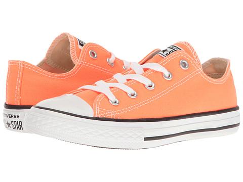 Converse Kids Chuck Taylor All Star Ox (Little Kid) - Hyper Orange