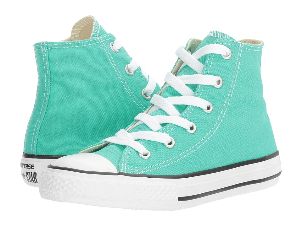 Converse Kids Chuck Taylor All Star Hi (Little Kid) (Menta) Girl