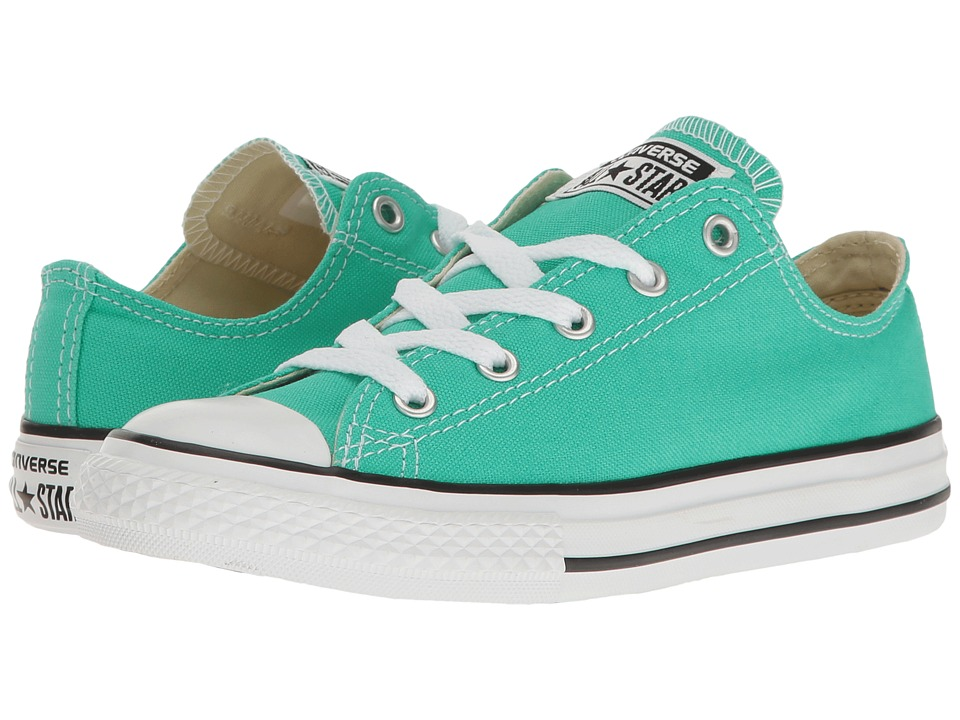 Converse Kids Chuck Taylor All Star Ox (Little Kid) (Menta) Girl