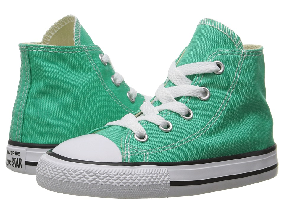 Converse Kids Chuck Taylor All Star Hi (Infant/Toddler) (Menta) Girl
