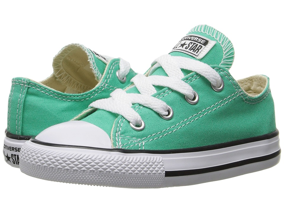 Converse Kids Chuck Taylor All Star Ox (Infant/Toddler) (Menta) Girl