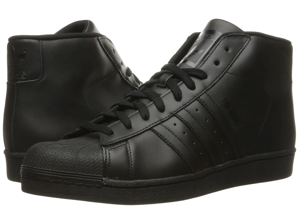 adidas Originals - Pro Model (Core Black/Core Black/Core Black) Men