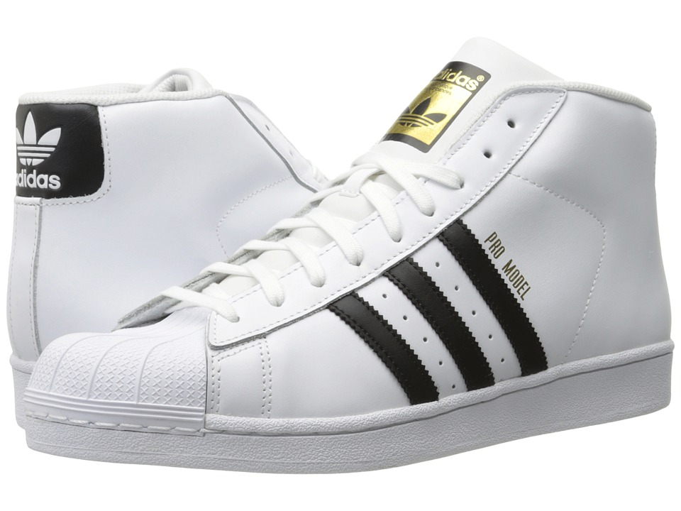 adidas Originals - Pro Model (Footwear White/Core Black/White) Men