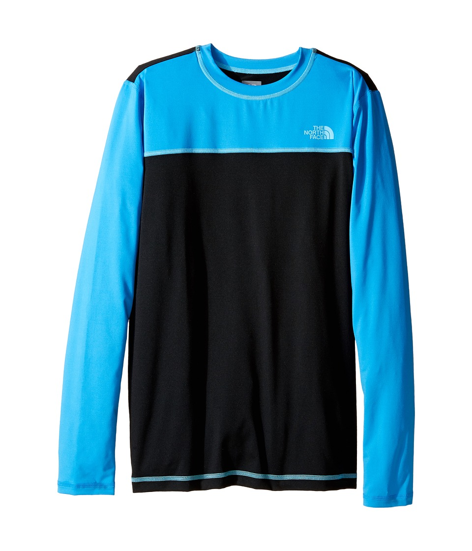 The North Face Kids Long Sleeve Hike/Water Tee (Little Kids/Big Kids) (TNF Black) Boy