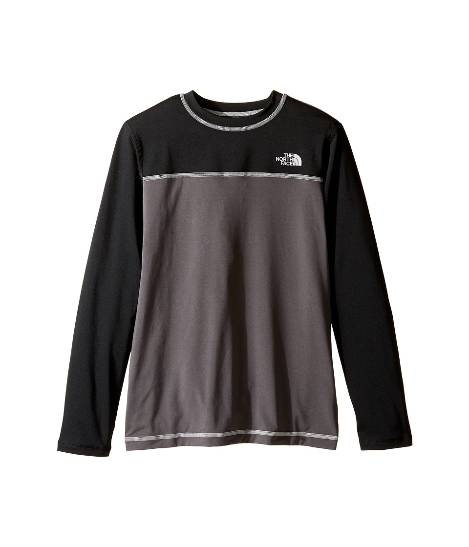 The North Face Kids Long Sleeve Hike/Water Tee (Little Kids/Big Kids) (Graphite Grey) Boy