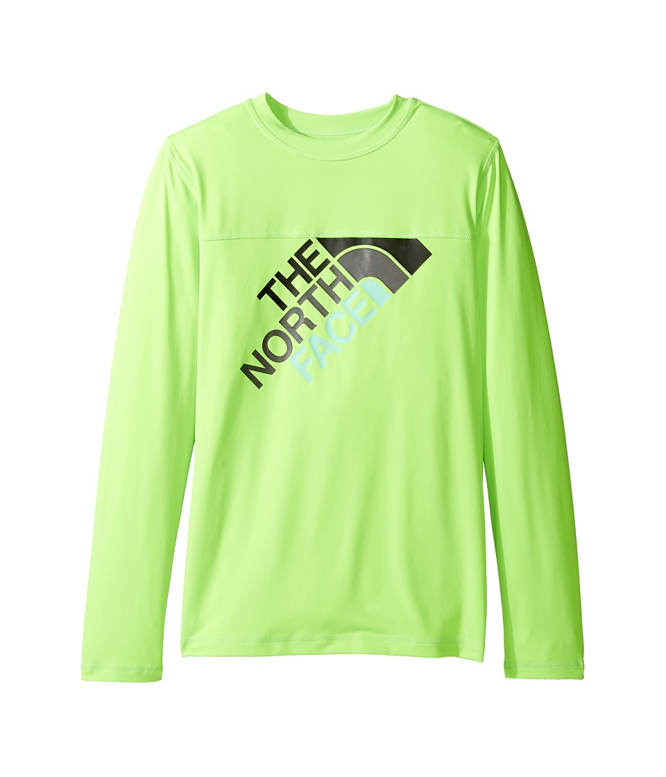 The North Face Kids Long Sleeve Hike/Water Tee (Little Kids/Big Kids) (Power Green) Boy