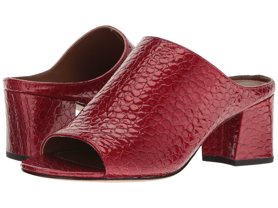 Donald J Pliner Ellis (Poppy Mini Patent Croco) Women