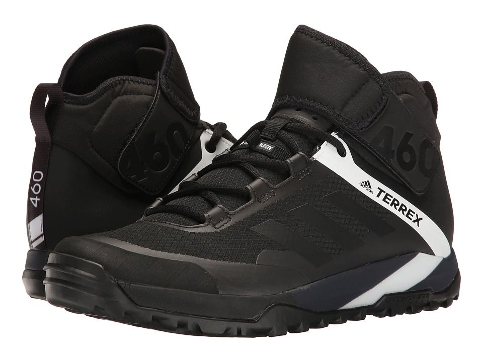adidas Outdoor - Terrex Trail Cross Protect (Black/Black/White) Mens Shoes