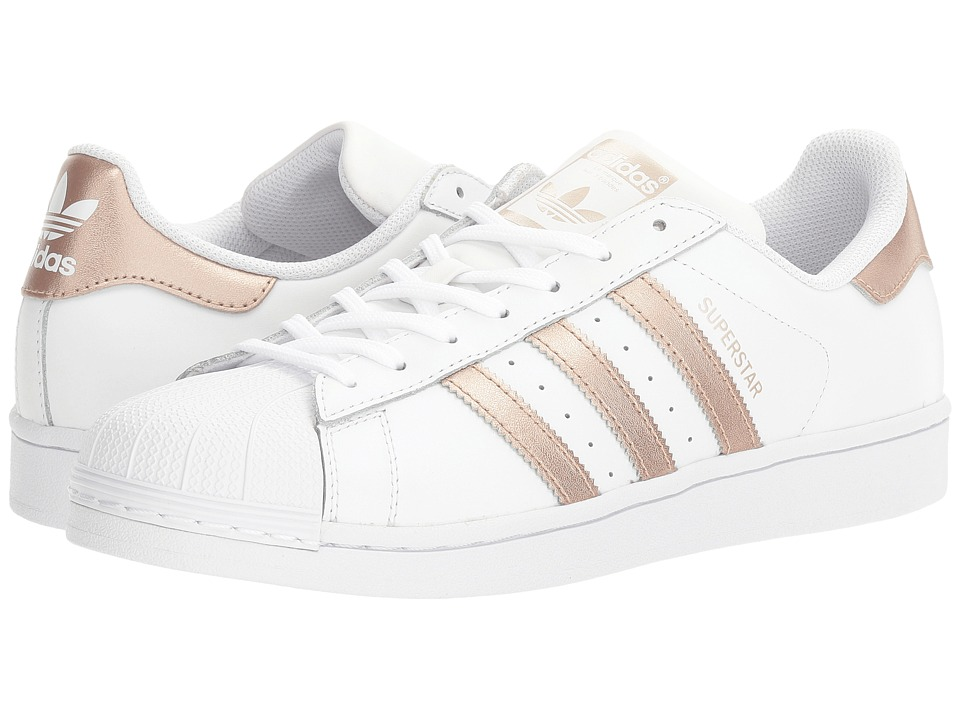 Adidas Originals - Superstar (Footwear White/Copper Metal...