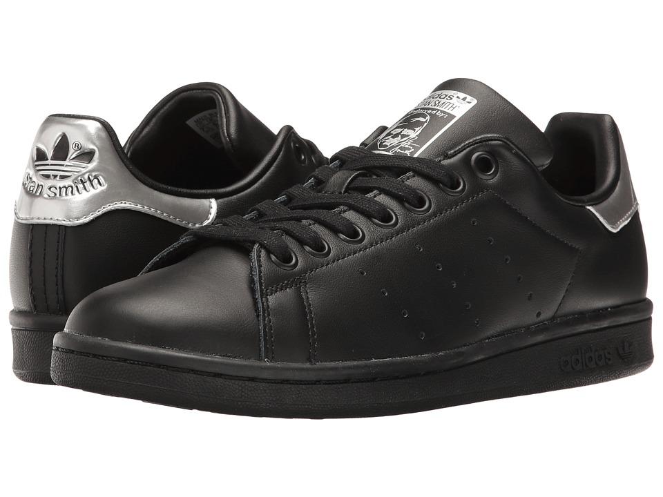 Adidas Originals - Stan Smith (Core Black/Core Black/Nigh...