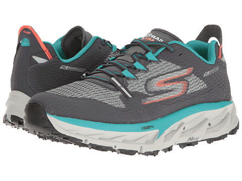 SKECHERS Go Trail Ultra 4 - Charcoal/Teal