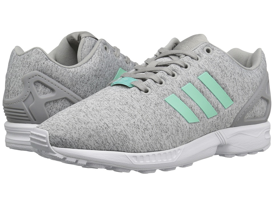 Adidas ZX Flux Winter shoes grey turquoise orange Stylefile