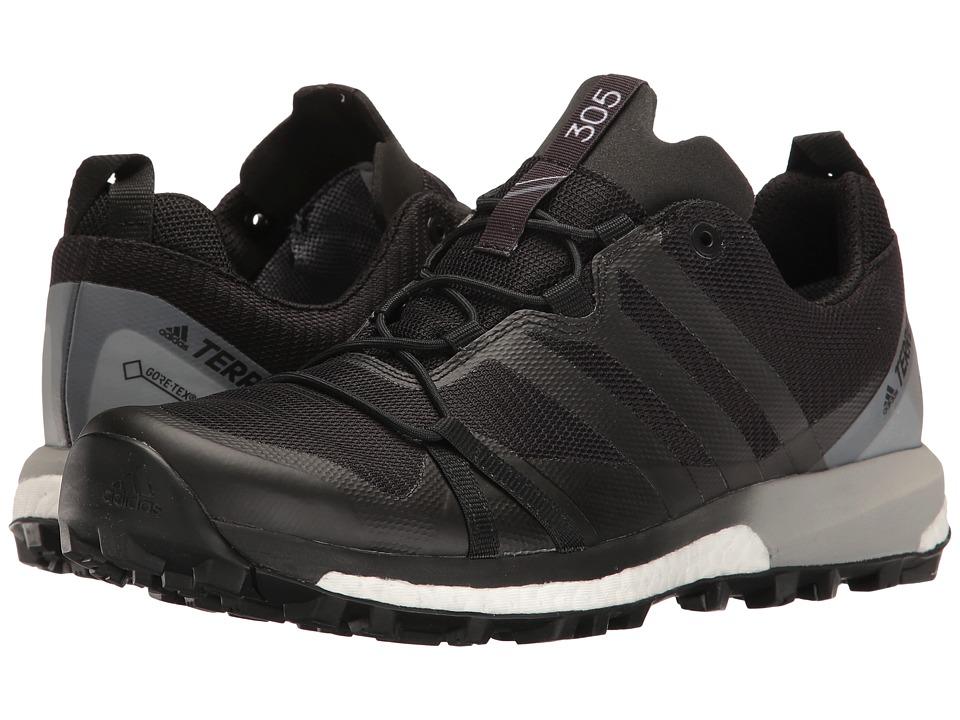 Adidas Outdoor - Terrex Agravic GTX (Black/Black/White) W...