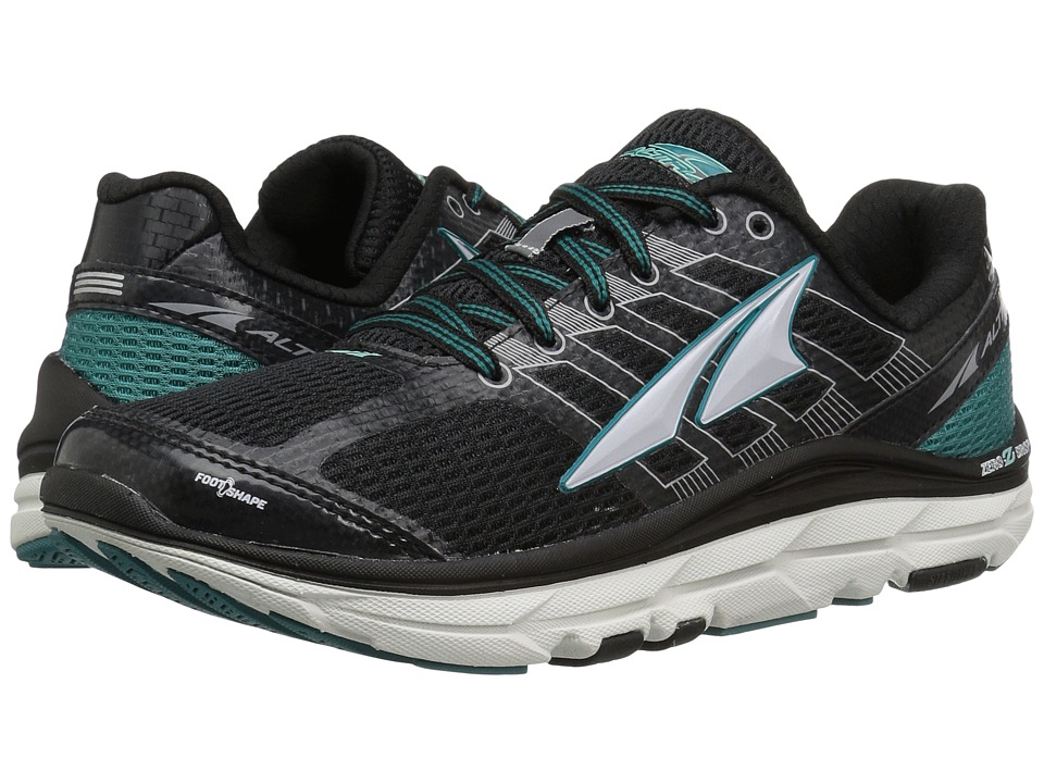 Altra Footwear - Provision 3 (Black/Teal) Womens Running Shoes