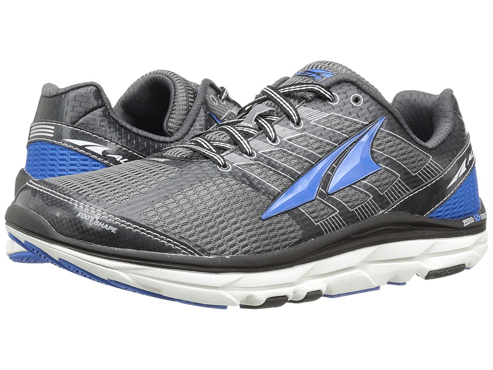 Altra Footwear - Provision 3 (Charcoal/Blue) Men's Runnin...