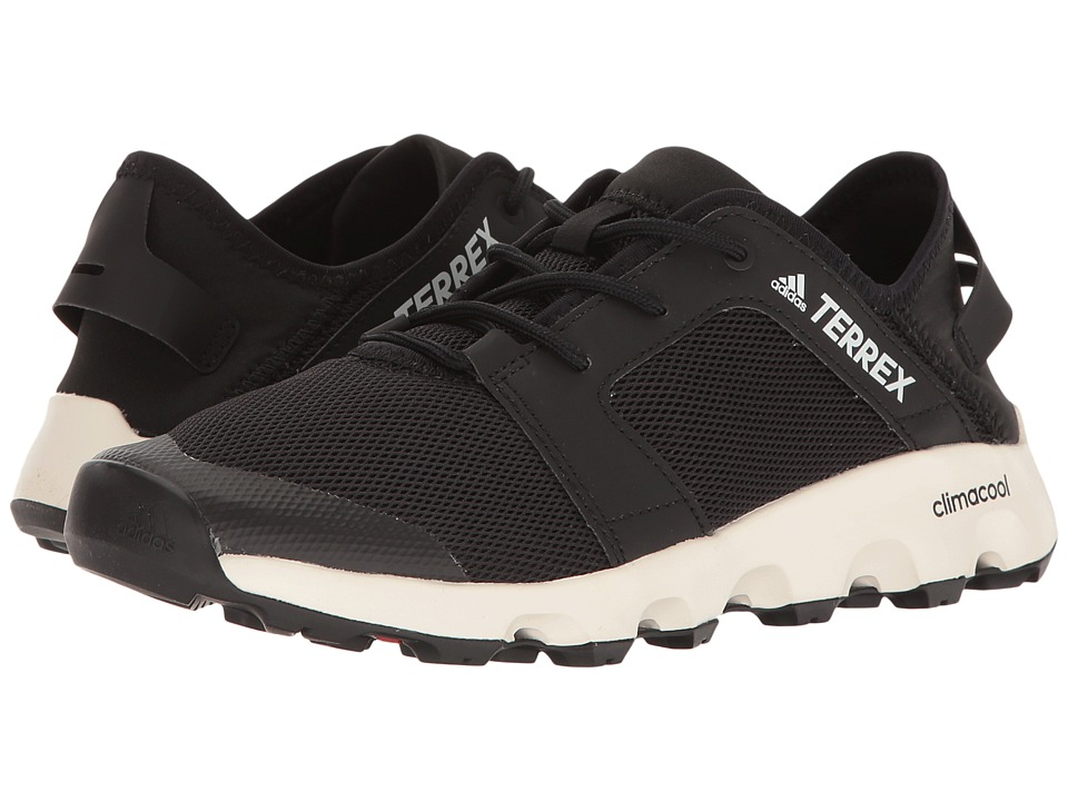 adidas Outdoor - Terrex Climacool Voyager Sleek (Black/Black/Chalk White) Womens Shoes