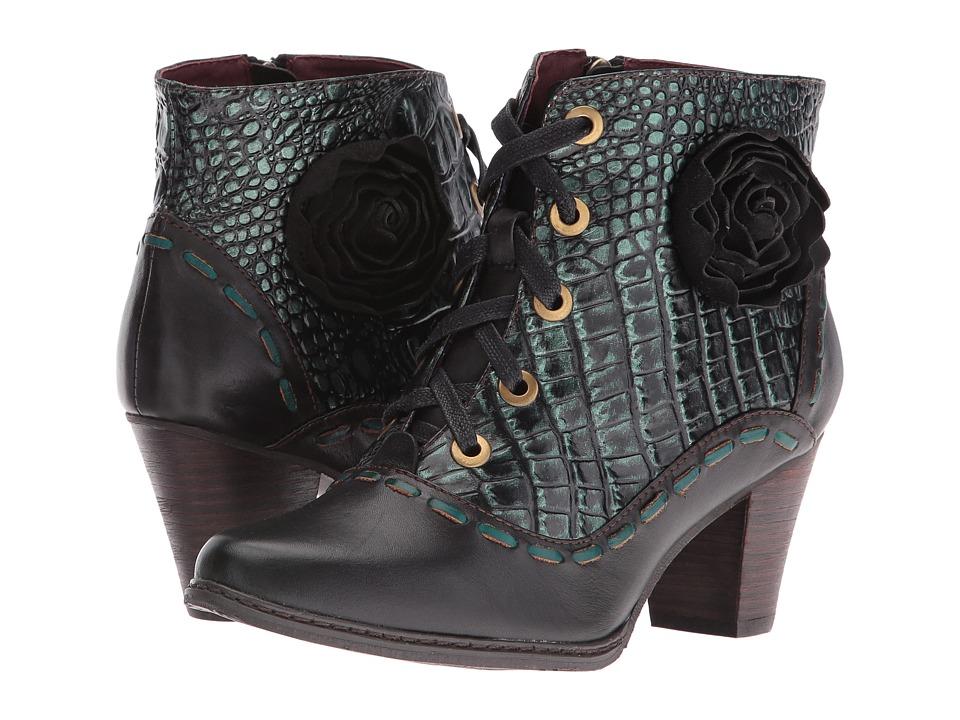 Steampunk Boots & Shoes Spring Step - Sufi Black Womens Shoes $169.99 AT vintagedancer.com