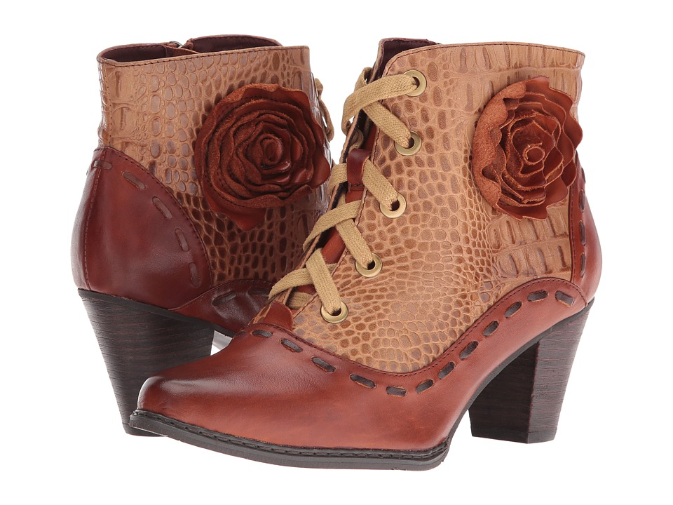 Steampunk Boots & Shoes Spring Step - Sufi Brown Womens Shoes $169.99 AT vintagedancer.com