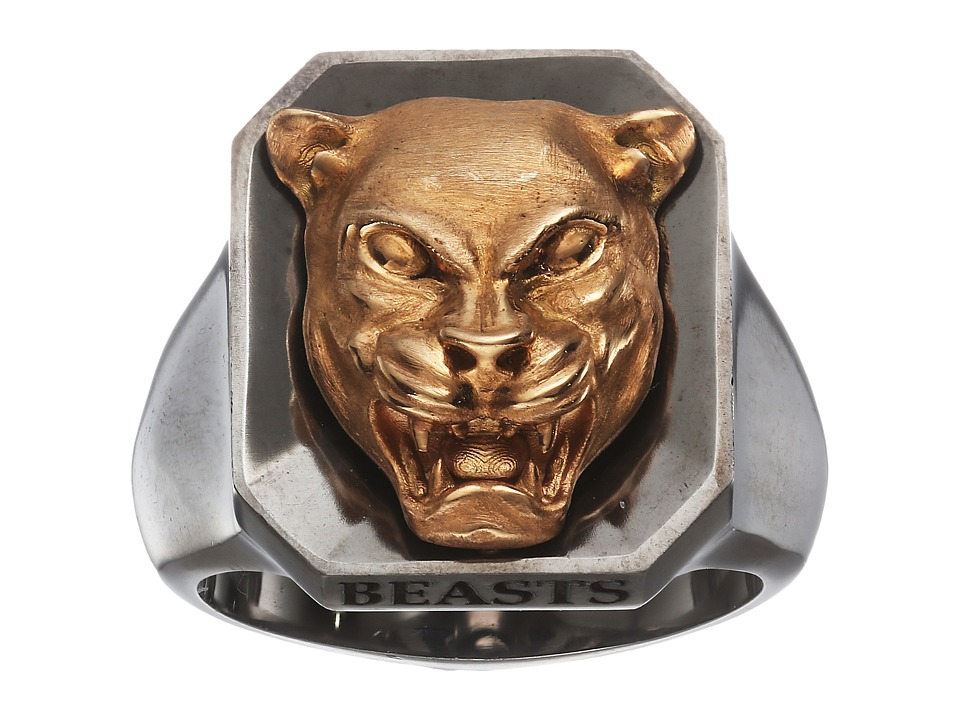 Stephen Webster - Beasts Of London Panther Ring (Rose Gol...