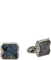 Stephen Webster - Tobacco Leaf Stone Inlay Cufflinks