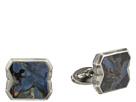 Stephen Webster Tobacco Leaf Stone Inlay Cufflinks