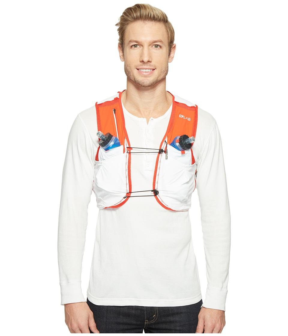 Salomon - S-Lab Sense Ultra 5 Set (White/Racing Red) Backpack Bags