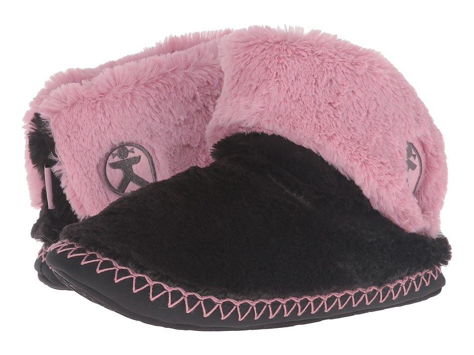 Image of Bedroom Athletics - Audrey (Charcoal/Dusky Pink) Women's Slippers