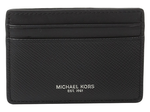 Michael Kors Harrison Card Case - Black