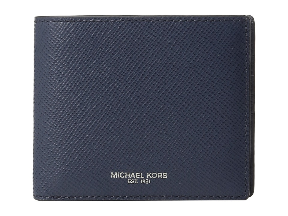 Michael Kors - Harrison Billfold (Navy) Wallet Handbags