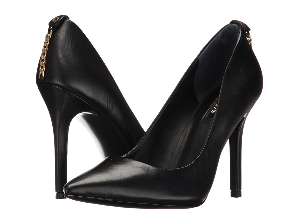 GUESS Blix (Black Leather) High Heels