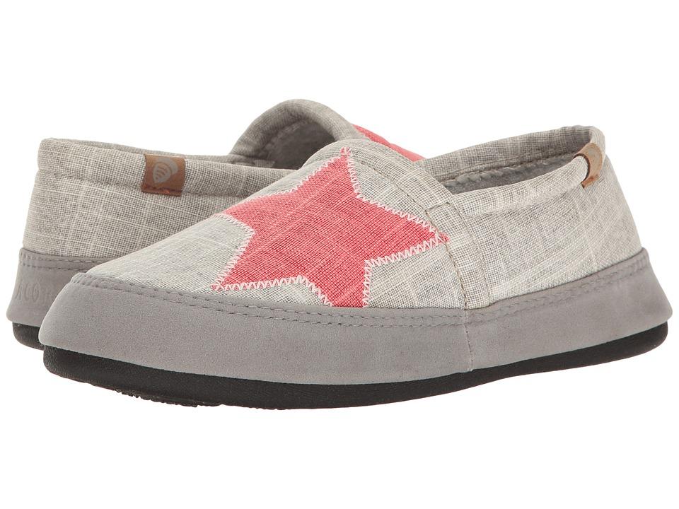 Acorn Acorn Moc Summerweight (Grey) Slippers